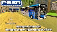 PROTON BUS SIMULATOR – Marcopolo Torino 2007 Mercedes-Benz OF-1722M Padrão SP Ficticio