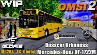 OMSI 2 Busscar Urbanuss Mercedes-Benz OF-1722M (BC283 – T.C. Glória)