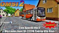 OMSI 2 Caio Apache Vip II Mercedes Benz OF-1722M Padrão Vila Real