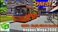 OMSI 2 – Neobus Mega 2006 (GA181 – Viação Cidade Sorriso)