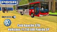 PROTON BUS SIMULATOR – Caio Apache STD Volksbus 17.210 EOD Padrão SP