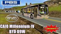 PROTON BUS SIMULATOR CAIO Millennium IV BYD D9W