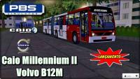 PROTON BUS SIMULATOR LANÇAMENTO Caio Millennium II Volvo B12M