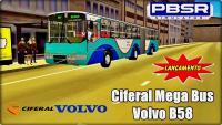PROTON BUS SIMULATOR – LANÇAMENTO Ciferal Mega Bus Volvo B58