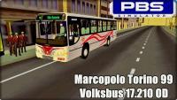 PROTON BUS SIMULATOR – Marcopolo Torino 99 Volksbus 17.210 OD