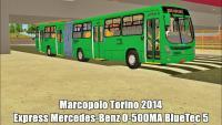 PROTON BUS SIMULATOR Marcopolo Torino 2014 Express Mercedes-Benz O-500MA BlueTec 5