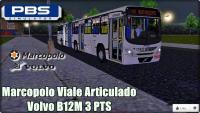 PROTON BUS SIMULATOR Marcopolo Viale Articulado Volvo B12M 3 PTS