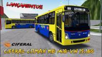 [OMSI 2] LANÇAMENTO !!! Ciferal Citmax – MB 1418 – VW 15.180