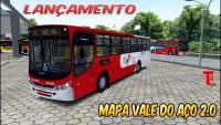OMSI 2  LANÇAMENTO MAPA VALE DO AÇO 2.0 CAIO APACHE VIPII OF-1722M BH