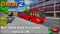 OMSI 2 –  Marcopolo Viale Articulado Volvo B12M
