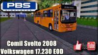 PROTON BUS SIMULATOR – Comil Svelto 2008 Volkswagen 17.230 EOD