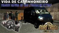 VIDA DE CAMINHONEIRO – Viagem Rápida de Van + Logitech G27 (Euro Truck Simulator 2) (#5) PT-BR