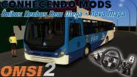CONHECENDO MODS️Ônibus Neobus New Mega + Novo Mapa + Volante G27 (OMSI 2) (#7) PT-BR