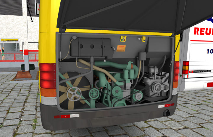 Motor OM 447LA