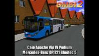 Caio Apache Vip IV Podium Mercedes-Benz OF1721 Bluetec 5 – OMSI 2