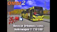 OMSI 2 Busscar Urbanuss Ecoss Volkswagen 17.230 EOD