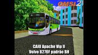 OMSI 2 CAIO Apache Vip II Volvo B270F padrão BH