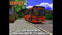 OMSI 2 CAIO Apache Vip IV Mercedes-Benz OF-1721L BlueTec 5