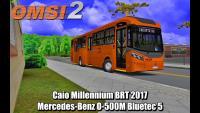 OMSI 2 Caio Millennium BRT 2017 Mercedes-Benz O-500M Bluetec 5