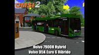 OMSI 2 Volvo 7900H Hybrid Volvo D5K Euro 6 Híbrido