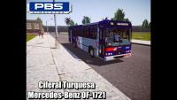 Proton Bus Simulator Ciferal Turquesa Mercedes-Benz OF-1721