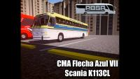 PROTON BUS SIMULATOR CMA Flecha Azul VII Scania K113CL