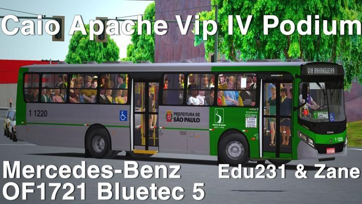 Caio Apache Vip IV Podium Mercedes-Benz OF1721 Bluetec 5