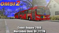 Comil Doppio 2008 Mercedes-Benz OF-1722M –  OMSI 2