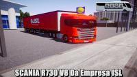 LANÇAMENTO – SCANIA R730 V8 Da Empresa JSL – Proton Bus Simulator Road