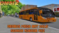 Neobus Mega BRT 2016 Scania K360IB 4×2 – OMSI 2