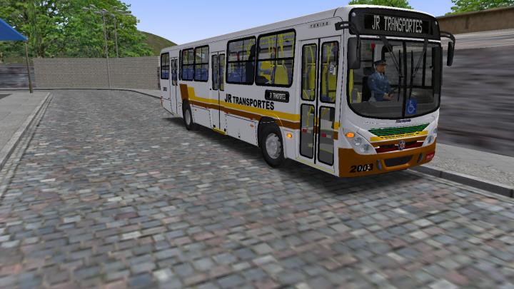 OMSI2 GamePlay Laçamento da Skin JR TRANSPORTES no Mapa Cariacica