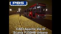 CAIO Apache Vip III Scania F250HB Urbano – Proton Bus Simulator