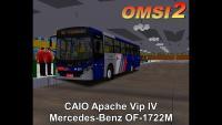 CAIO Apache Vip IV Mercedes-Benz OF-1722M OMSI 2