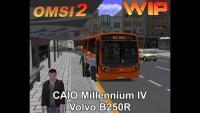 CAIO Millennium IV Volvo B250R W.I.P OMSI 2
