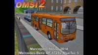 Marcopolo Torino 2014 Mercedes-Benz OF-1721L BlueTec 5