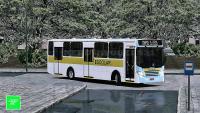[OMSI 2] Busscar Urbanuss Ecoss 2008 MB of-1418 +G27 – Transportes Escolar \ Chuva Forte
