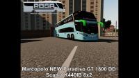 Marcopolo NEW Paradiso G7 1800 DD Scania K440IB 8×2 – Proton Bus Simulator Road