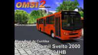 OMSI 2 Comil Svelto 2000 Scania F94HB Mapa Real de Curitiba