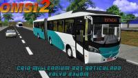 CAIO Millennium BRT Articulado Volvo B340M OMSI 2