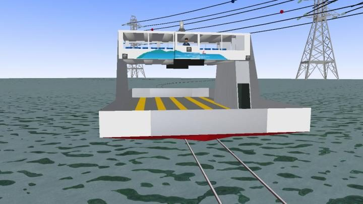 Lançamento do Ferry Boat(Navio)