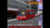 Neobus Mega BRT 2011 Volvo B12M DE722 – CCD Transporte Coletivo