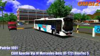 CAIO Apache Vip IV Mercedes-Benz OF-1721 BlueTec 5 Padrão 1001 – OMSI 2