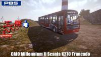 CAIO Millennium II Scania K270 Truncado Proton Bus Simulator
