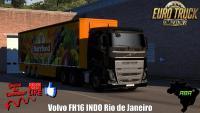 Vida de Caminheiro Com Volvo FH16 INDO Rio de Janeiro (1.35) #4