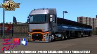 Vida de Caminhoneiro Com New Renault Qualificado Levando BATATA CURITIBA x PONTA GROSSA (1.35) #5