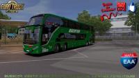 Busscar Vissta Buss DD Da EUCATUR DE CURITIBA PARA ITAJAI (1.36x do ETS 2)