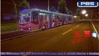 CAIO Millennium BRT 2017 Articulado Mercedes-Benz O-500UDA BlueTec 5 Natalino (Proton Bus Simulator)