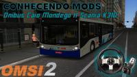 CONHECENDO MODS🗺️🚌   Ônibus Caio Mondego H Scania K310 Nova Versão   (OMSI 2) (#1) PT-BR