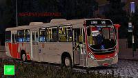 [OMSI 2] ESPECIAL BUS NATALINO Torino 2014 MB of-1721 Bluetec 5 +G27 – EX. Coroado   Inicio de noite