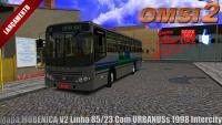 Mapa MOBENICA V2 Linha 85/23 Com URBANUSs 1998 Intercity (OMSI 2)